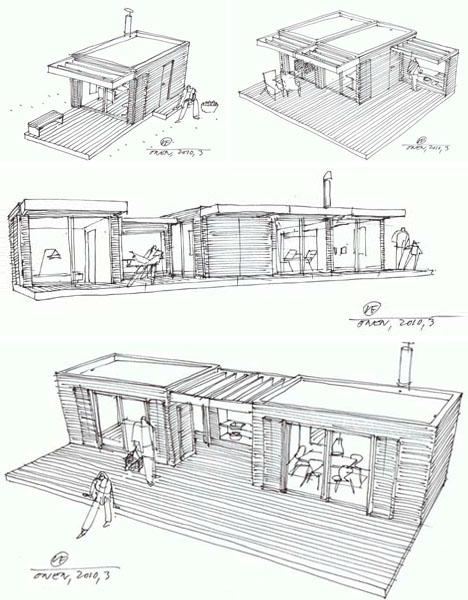 Charming Post Fad Prefab: Retro Modern Cabins For Neo Rustic Living