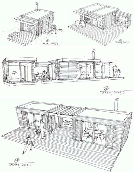 Log Cabin Design Drawings