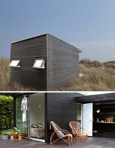Post Fad Prefab Retro Modern Cabins for Neo Rustic Living