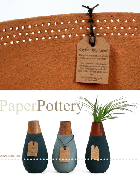 Waterproof Paper!? Artisan Pottery Of Waste, Wood & Sand