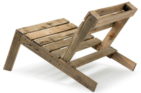 Forklift Furniture: 10 DIY Projects For Used Wooden Pallets