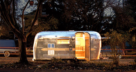 Post Travel RVs Used Airstream Trailers As Art Campers