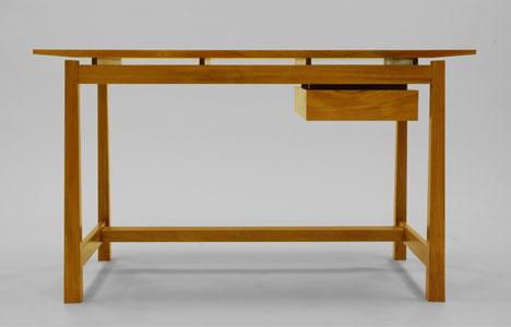 Desk Designs Wood builtdornob: a single-board, solid-wood desk design