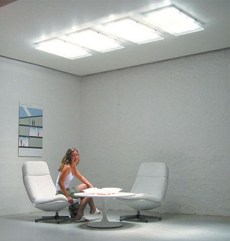 Windowless Daylight Fiber Optics Project Sun Amp Sky Inside