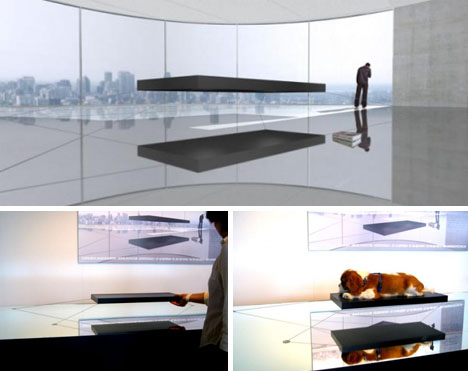 For Real: 1.6 Million-Dollar Magnetic Hover Bed Floats on Air