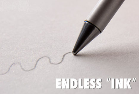 endless pens never run out of ink leak smear or smudge