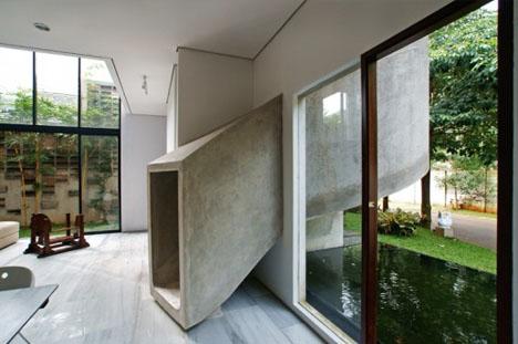 Fun House Skip Stairs Amp Take A Two Story Concrete Slide