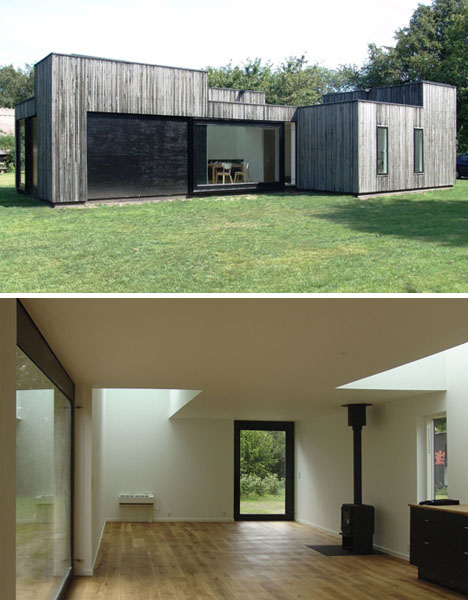 1-Story Skybox: Small & Simple Open-Plan Summer House