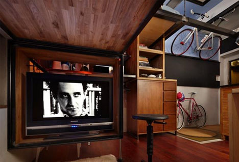 Space Saver: Engineer Spends 7 Years Building Dream Loft