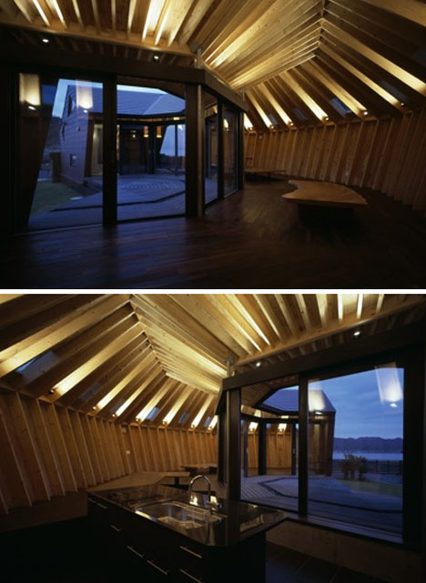 Flying Saucer Shaped Sea Shell House Looks Like Half A Ufo