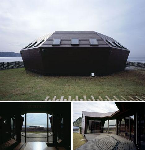 Fantastic Flying Saucer Shaped Sea Shell House Looks Like Half A Ufo Download Free Architecture Designs Xerocsunscenecom