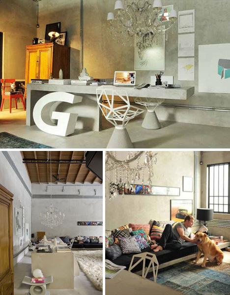 Livable Luxury Loft: Cheap U0026 Creative Live/Work/Art Refab