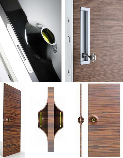 Open & Shut? Stylish Knob-Free Doors with Built-In Handles