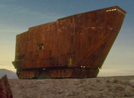 Huge House Looks Suspiciously Like Star Wars Sandcrawler