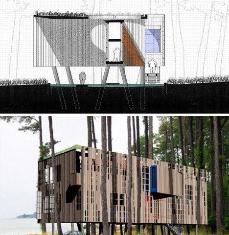 Prefab for Prefab beach cottage