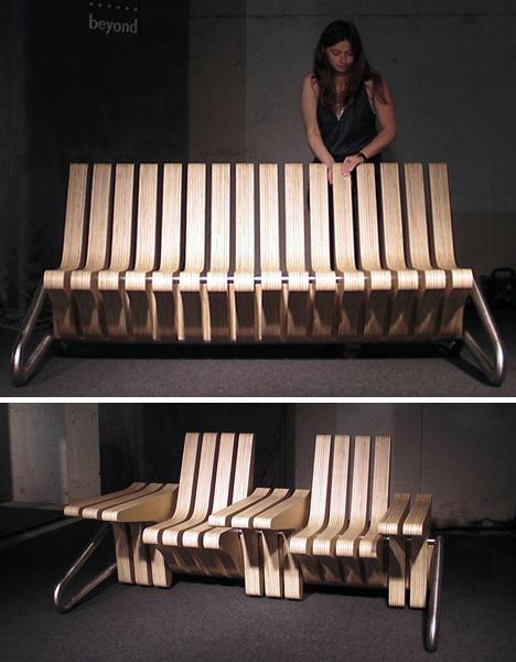 flexible chair(doornob.com)