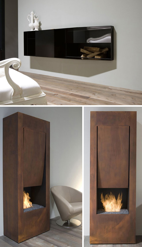 Simple Surrounds 3 Mantel Free Minimalist Gas Fireplaces