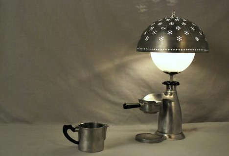 Superbe Classy Trash: Antique Metal Objects As Modern Table Lamps