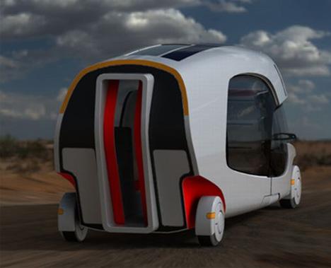 Modular Motorhome: Hybrid Camper Car + Caravan Combo