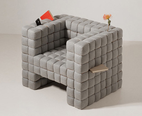 Lost Found Comfy Chair Cushioned with BuiltIn Storage