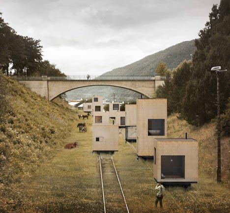 Mobile Master Plan Whole Nomadic Railway City On Wheels