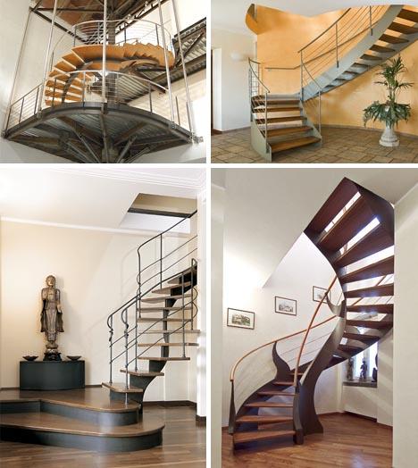 Winding Designs: 1 Company, 10 Custom Interior Stairways