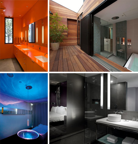 bold bathroom ideas: pictures of 7 luxury modern designs