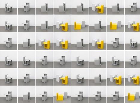 Modular Units magic lamp box: multi-functional little modular light cube