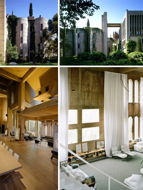 25 Year Refab Concrete Factory Converted To Castle Home