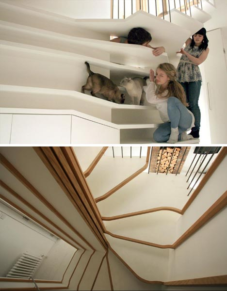 how to make curved wooden handrails