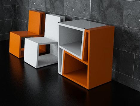 Marvelous Flip Up Furniture: Dual Functions In Half The Square Footage
