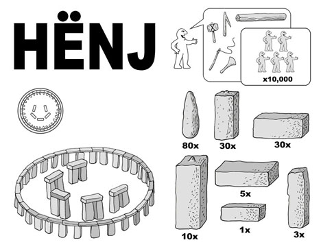 Ikea Henj Step Diy Instruction Manual For Stonehenge
