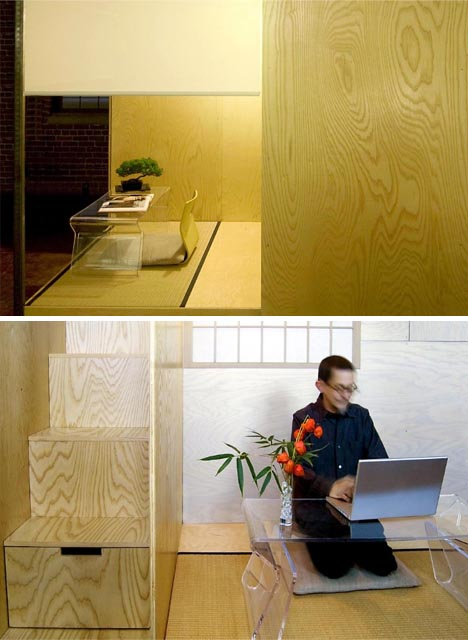 Feng Shui to Go: Modular Lofted Mini-Apartment on Wheels