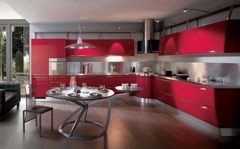 7 Monochrome Kitchens Make Singular Use Of Bright Colors Designs