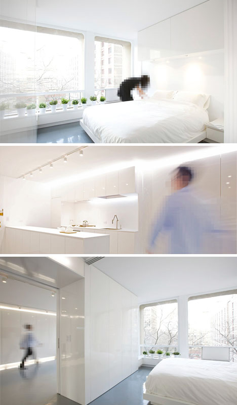 Space Age White Apartment Designs Amp Ideas On Dornob