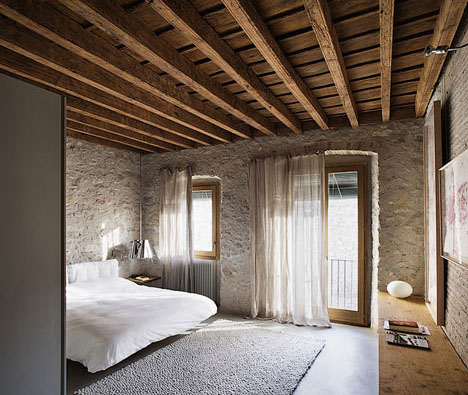 Great Less Is More: 500 Year Old House To Duplex Rental Retreat