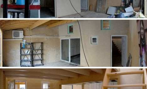 Roomy Remake 40M Garage Home Before After Photos