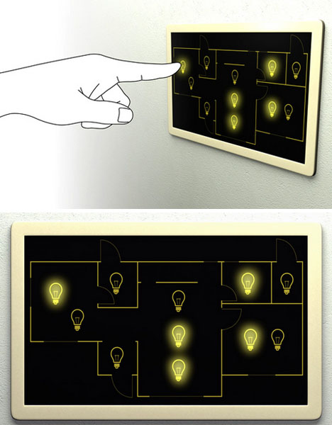 Custom Floor Plan Light Switches Dispel
