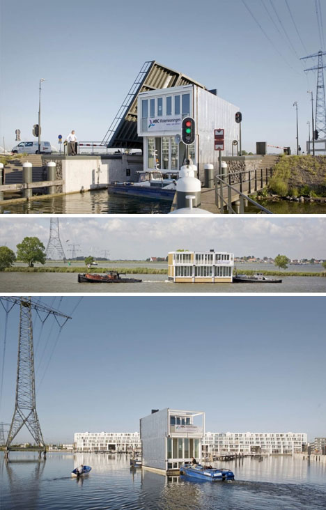 A Whole Town Of Floating Homes In Holland Designs Amp Ideas On Dornob