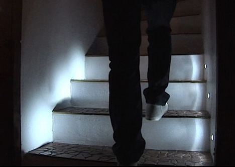 Diy Led Steps Motion Sensing Staircase Illuminates Itself