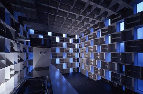Void Masonry: Half Transparent Home Built Of Light U0026 Steel Amazing Design