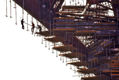 Skeletal Archiporn 16 Sublime Photos Of Scary Scaffolding