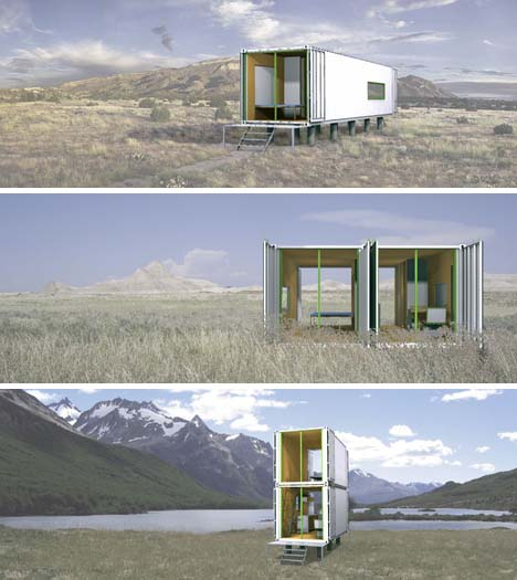 Boring or Brilliant? Simple Shipping Container House Plans