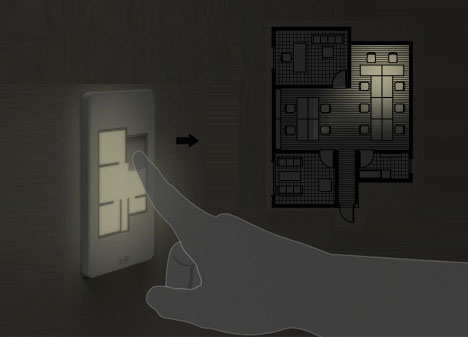 Custom Floor Plan Light Switches Dispel Shadows Of Doubt By Loef Sometimes