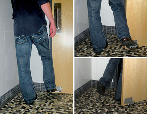 Hands Free Door Opener Beats Bathroom Handles Amp Knobs
