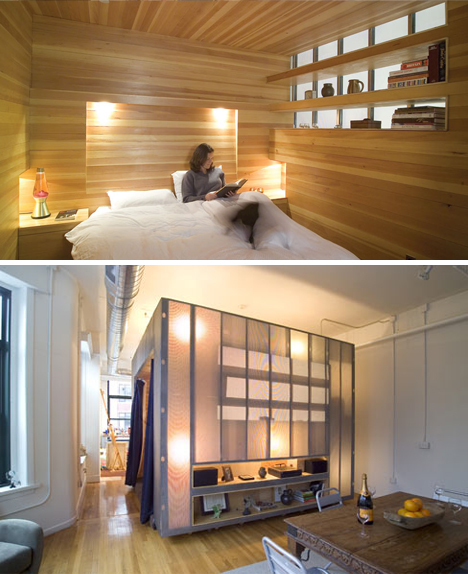 . Room in a Box  Saving Interior Space via Bedroom Cubes