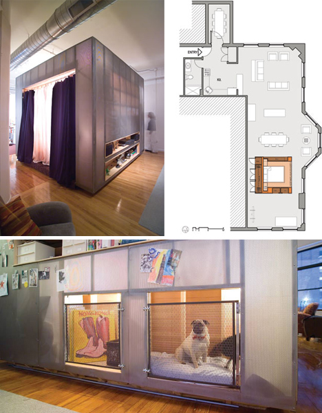 Room in a box saving interior space via bedroom cubes - Miniature room boxes interior design ...