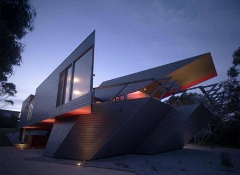 ship shape australian beach house rides conceptual wave - Conceptual Design House