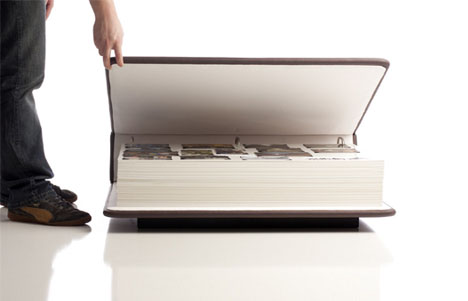 coffee table book cleverly literal 2 in 1 home furnishing