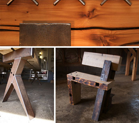 - Farmpunk Furniture: 12 Refabs From Raw Farm Equipment